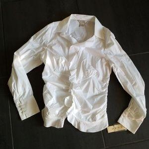 Nexx Cotton Poplin Stretch Button Down Shirt